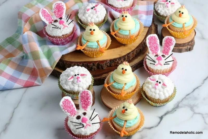 Remodelaholic Easy Diy Easter Cupcake Decorations