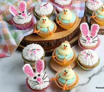 Easy DIY Easter Cupcake Decorations