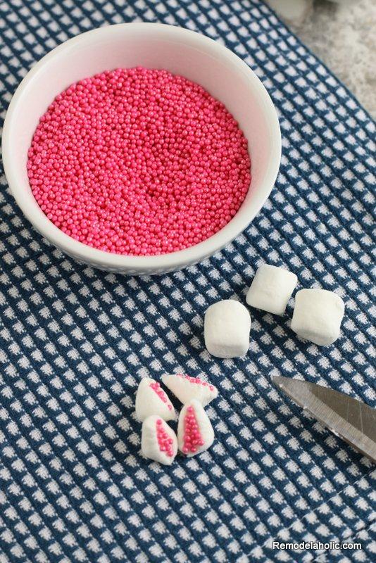 Baked Easter Bunny Donut Marshmallow Ears Remodelaholic