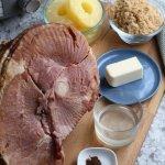 Easy Slow Cooker Ham Recipe, Pineapple Brown Sugar Glaze, Remodelaholic (1)