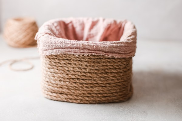 Upcycled Storage Basket 3