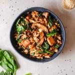 Ginger Chicken Fried Rice Recipe Remodelaholic