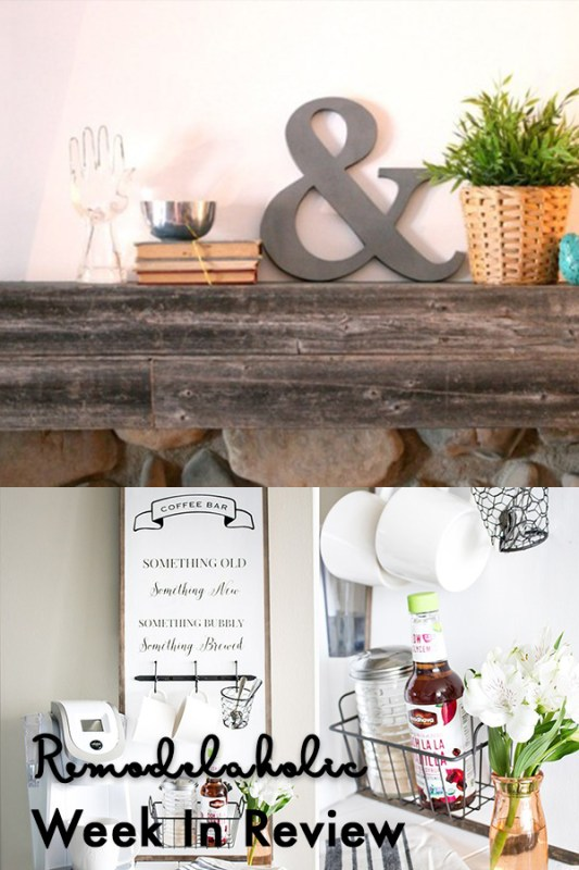 (3.18.2018) Weekly Digest #11 Weekly Recap + Make A Reusable Faux Chalkboard Sign And An Easy Painted Farmhouse Sign