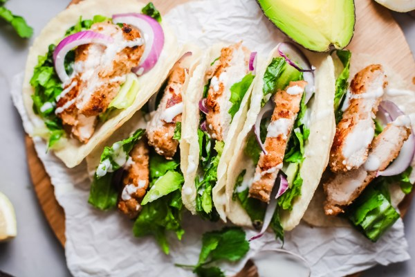 Crispy Chicken Tacos Recipe