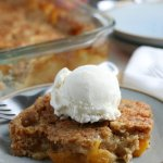 easy peach dump cake recipe