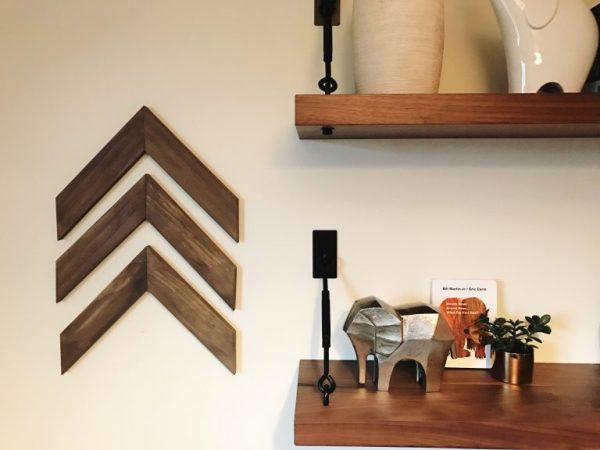 Easy DIY Wooden Arrow Wall Decor Tutorial