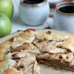 Homemade Apple Crostata, Rustic Apple Pie, Apple Tart Galette, Remodelaholic