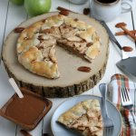 Make Apple Crostata From Scratch, Rustic Apple Pie #remodelaholic