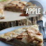 Simple Apple Crostata Recipe, Easy Apple Pie, Basic Apple Tart, Remodelaholic