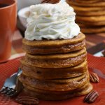 Easy Homemade Pumpkin Spice Pancakes From Scratch Recipe, Remodelaholic