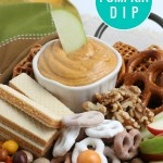 Easy Pumpkin Dip Recipe For Apples And Pretzels, Remodelaholic