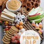 Easy Pumpkin Dip Snack Tray Idea, Recipe Remodelaholic