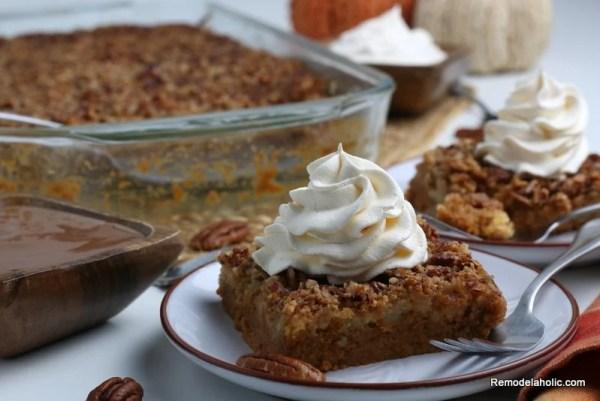 Easy Pumpkin Dump Cake Recipe, Pumpkin Spice Cake Remodelaholic