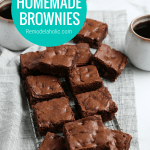 Homemade Brownies Made Easy From Remodelaholic