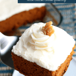 Homemade Pumpkin Cake Recipe With Cream Cheese Frosting, Remodelaholic