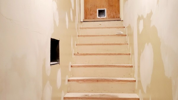 basement remodel - fixing uneven stairs