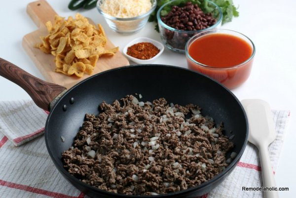 How to make Frito Pie, a recipe from Remodelaholic