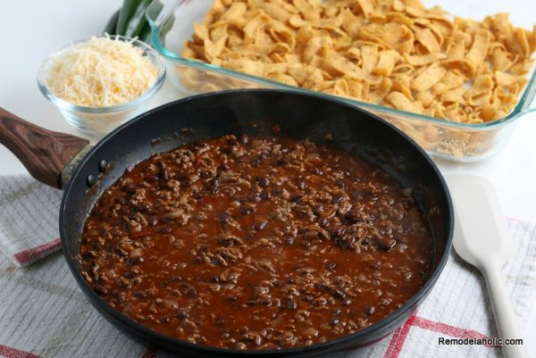 Frito Pie Recipe, from Remodelaholic