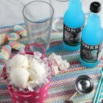 Ice Cream Float Bar For A Party From Remodelaholic