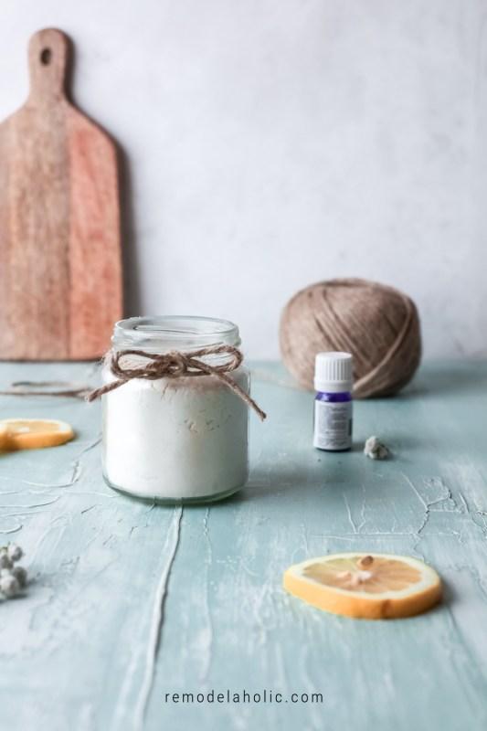 Homemade Diy Carpet Freshener And Deodorizer Recipe Using Baking Soda And Essential Oils, Remodelaholic
