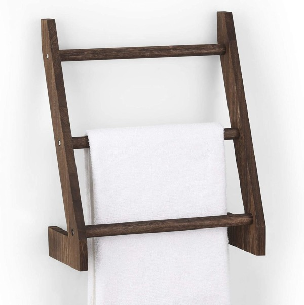 Wall Mounted Blanket Ladder For Towels, Amazon