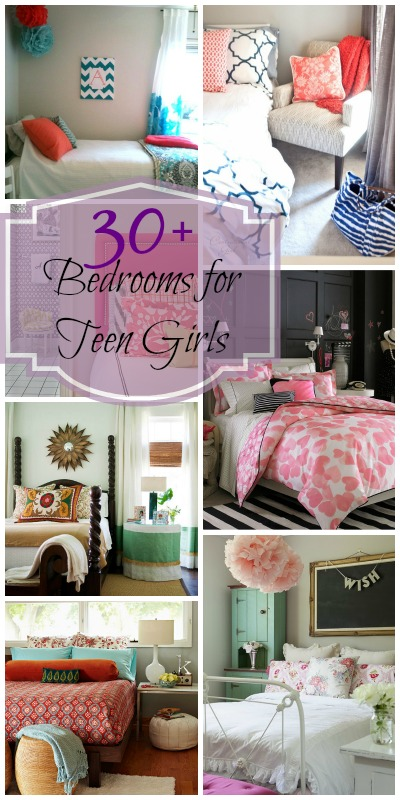 Remodelaholic sweet as sugar girl 39 s room design ideas - Teenage girl bedroom ideas on a budget ...