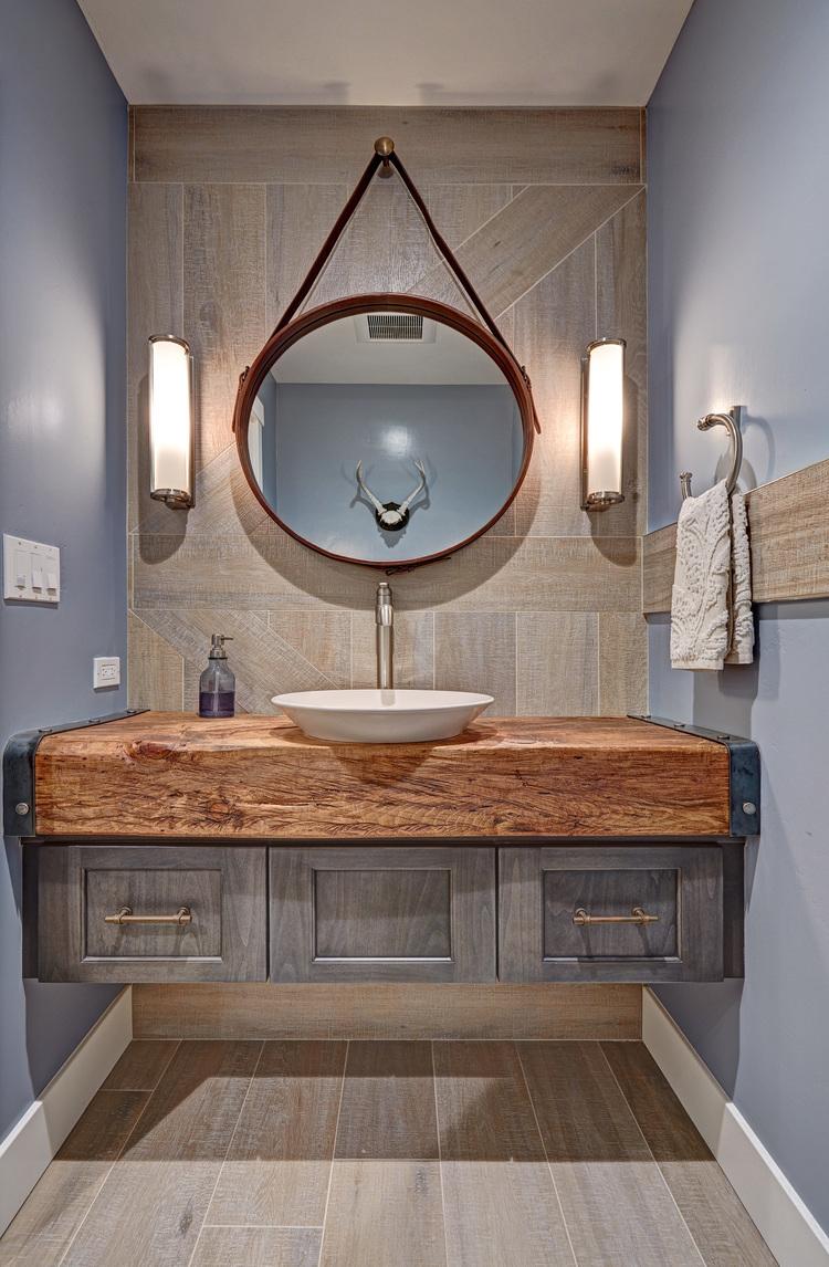 loomis industrial eclectic bathroom Top 15 Amazing DIY Bathroom Design