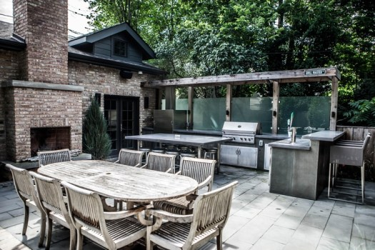 Ravenswood outdoor kitchen