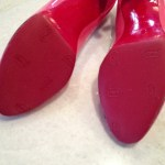 My 1st DIY Christian Louboutin red Vibram Rubber Re-sole