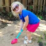 "Chloe's Corner: ""I had to match my shovel"""