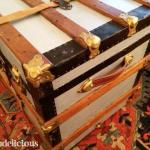 DIY Coffee Table Trunk