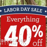 Deal Alert: HUGE Labor Day Sale at Gymboree!