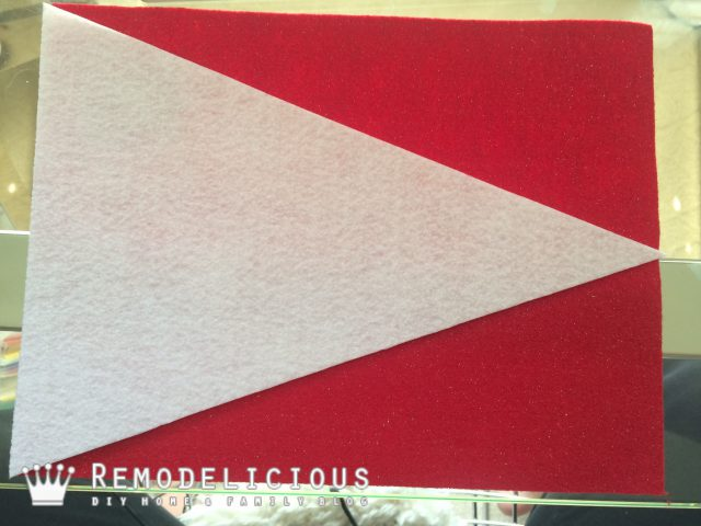 DIY Felt Varsity Flag