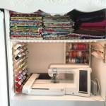 DIY Sewing Cabinet Extraordinaire