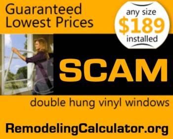 cost of vinyl replacement windows