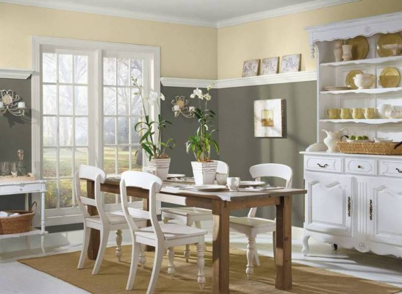 French Country Style Dining Room Color Ideas | Remodeling ...