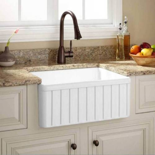 Fireclay Country Kitchen Sink