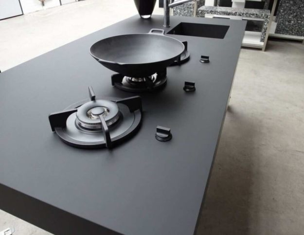Nanotech Fenix NTM Kitchen Countertops