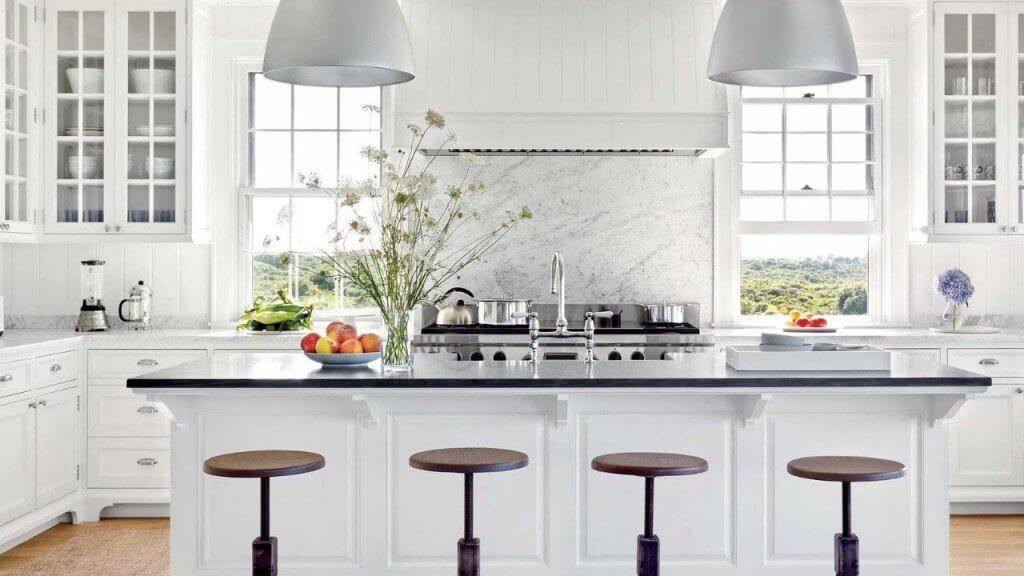 All White Kitchen Ideas