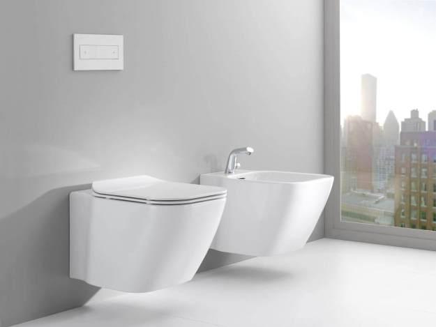 Bathroom Bidet in a luxury bathroom