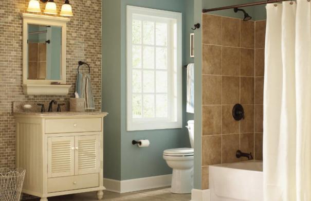 Bathroom remodel cost for a foreclosure