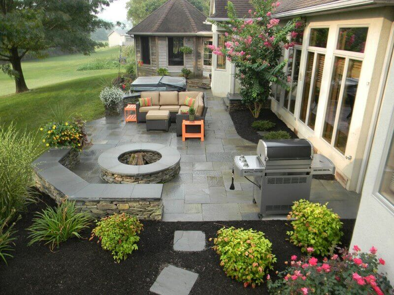 Beau Cost Of Stamped Concrete Patio