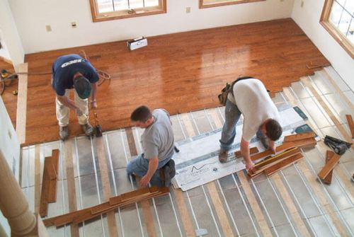 Superb Radiant Floor Heating Cost Estimate The Price To Install Download Free Architecture Designs Embacsunscenecom