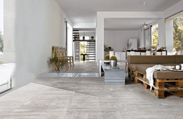 Porcelain Tile Living Room Floors