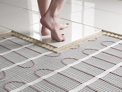 Radiant Floor Heating Cost Hydronic Vs Electric Radiant Flooring Remodeling Cost Calculator