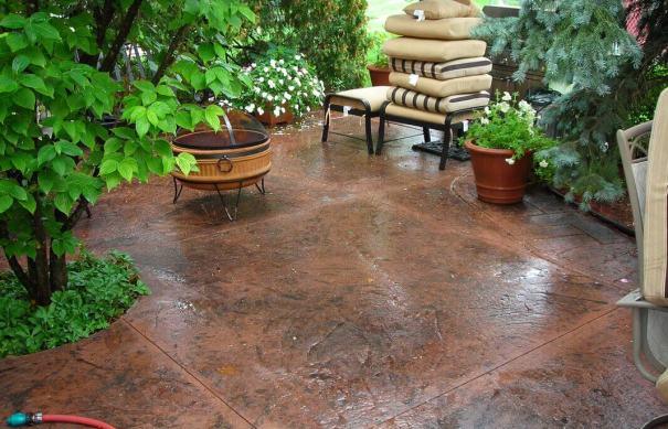 cost of decorative concrete pavement