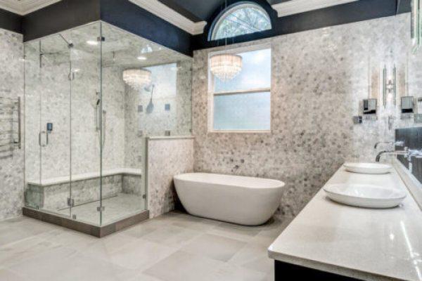 luxury master bath renovation
