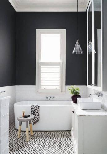 tiny bathroom color ideas