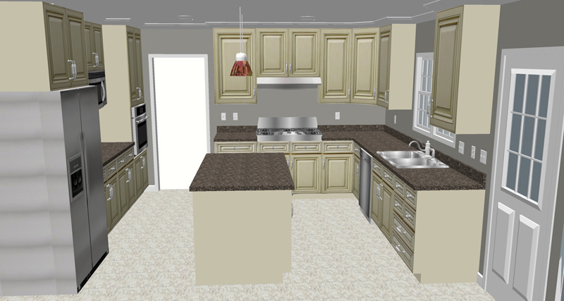 cost of new kitchen cabinets. Mid-Range Kitchen Remodel \u2013 Expected Cost Range: $20,000-$50,000 Of New Cabinets