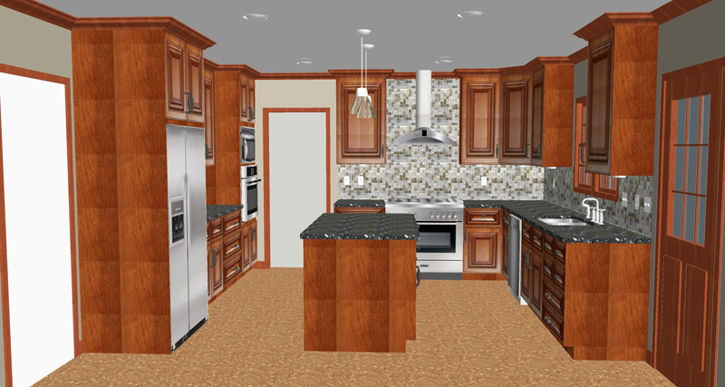 kitchen remodel budget cabinet supplies cost breakdown recommended budgets more home deluxe expected range 75 000 100